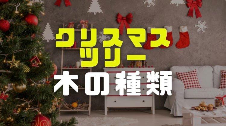 クリスマスツリーの木の種類や名前は?飾りをおしゃれにするには?